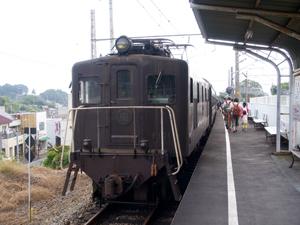 SL補助用の電気機関車