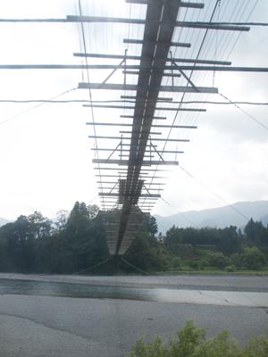 塩郷大吊橋