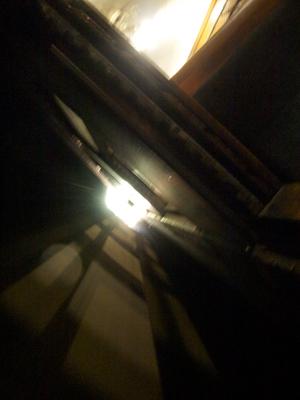 車窓から見るトンネル
