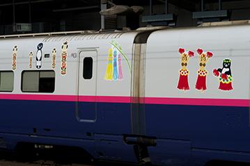 福島と宮城の車両