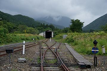線路の終端