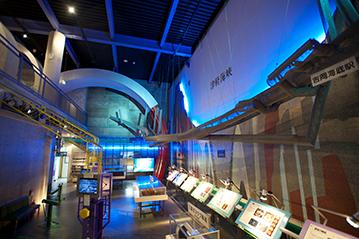 青函トンネル記念館の展示
