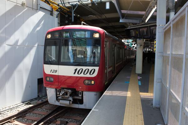 京急蒲田駅に停まるエアポート快特