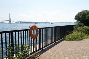 海芝公園から望む海