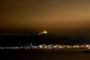 逆函館山夜景