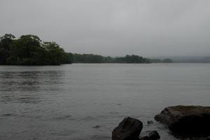 鈍曇りの大沼公園