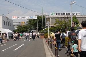 東京総合車両センター入口