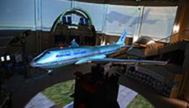 【飛行機を撮ろう】航空科学博物館でパイロット気分