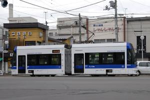 函館市電最新型らっくる号