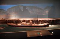 石炭積込用高架桟橋模型