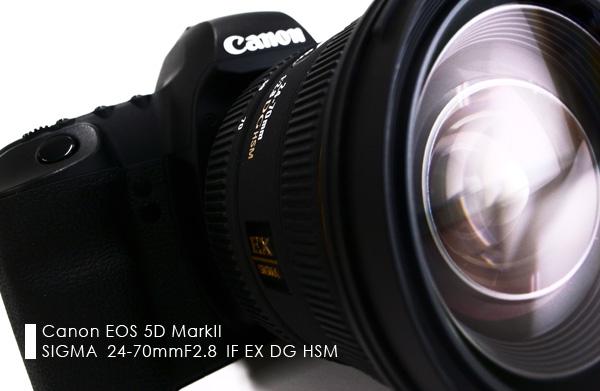 SIGMA 24-70mm F2.8 IF EX DG HSM レポート
