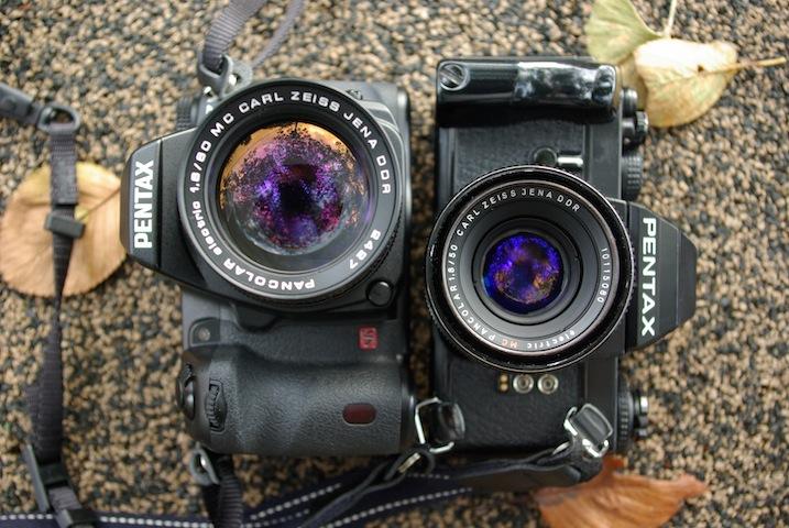 CZJ Pancolar80mmf1.8