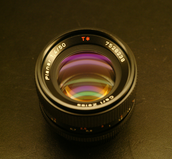 Planar 50mm F1.4 for CONTAX SLR