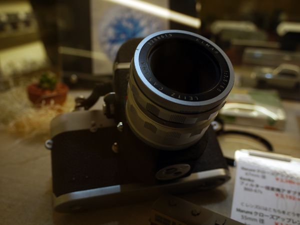 ライカ ビゾフレックス+エルマー65mmF3.5