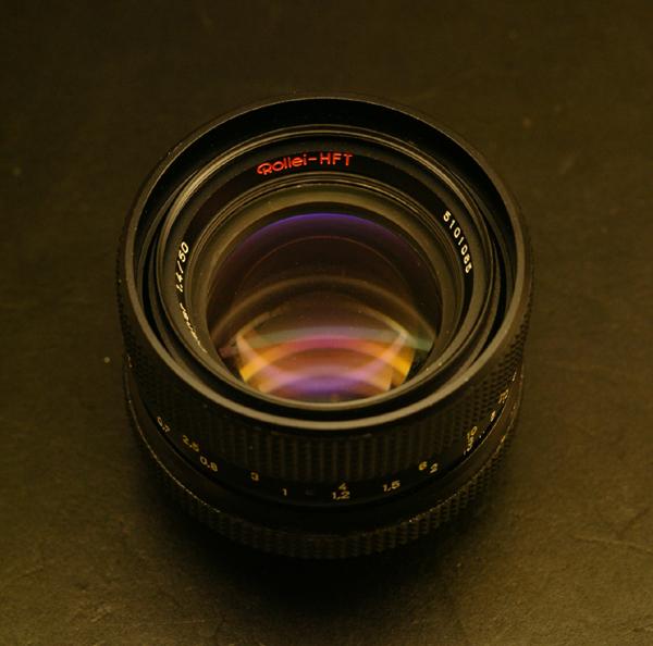 Planar 50mm F1.4 for Rolleiflex SL35