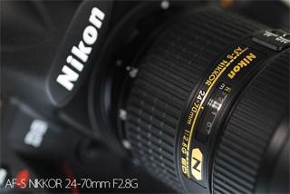 大口径標準ズームレンズ ニコン AF-S NIKKOR 24-70mm F2.8G レポート
