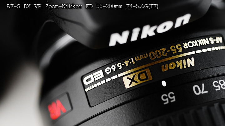 Nikon AF-S DX VR Zoom-Nikkor ED 55-200mm F4-5.6G