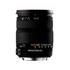 SIGMA 18-200mm F3.5-6.3 DC OS HSM(ニコン用)