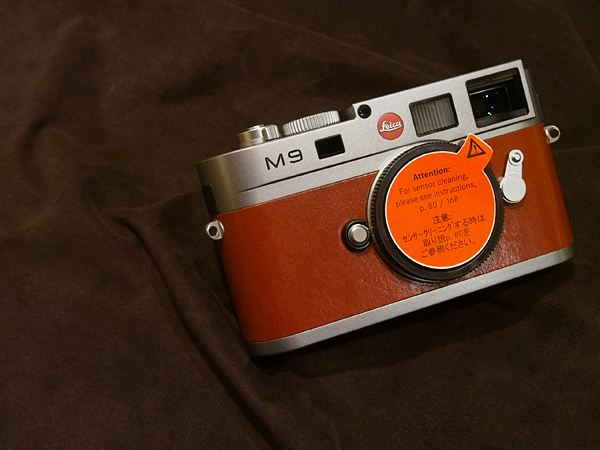 【本館地下一階】  Leica M9 Steel Grey