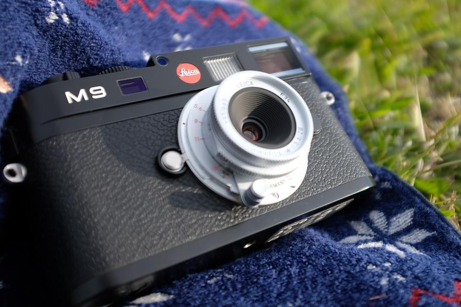 Leica M9 ブラックペイント + ズマロン M28mm F5.6