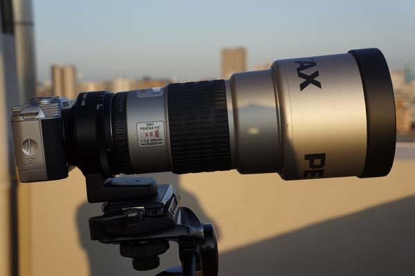 Q10 smc-PENTAX FA★200mm F2.8ED[IF]