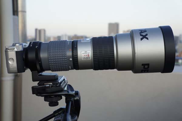 Q10 smc-PENTAX FA★200mm F2.8ED[IF]+リアコンバーターA 2xL