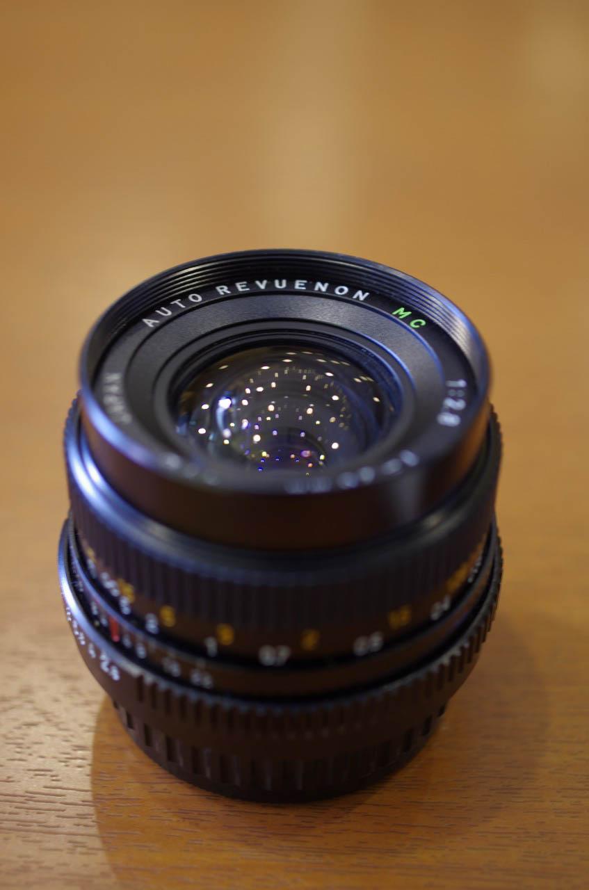 AUTO REVUENON MC 28mm F2.8