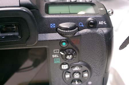 K-5IIsグリーンボタン