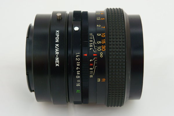 KONICA HEXANON AR 50mm F1.4