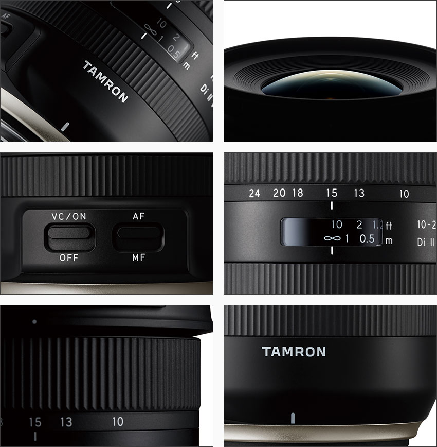 TAMRON 10-24mm F3.5-4.5 DiII VC HLD