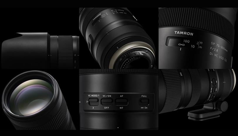 TAMRON  SP 70-200mm F2.8 Di VC USD G2