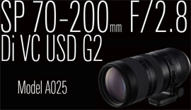 【Ring color of TAMRON】SP 70-200mm F2.8 &SP 70-300mm F4-5.6 ~本日発売!~