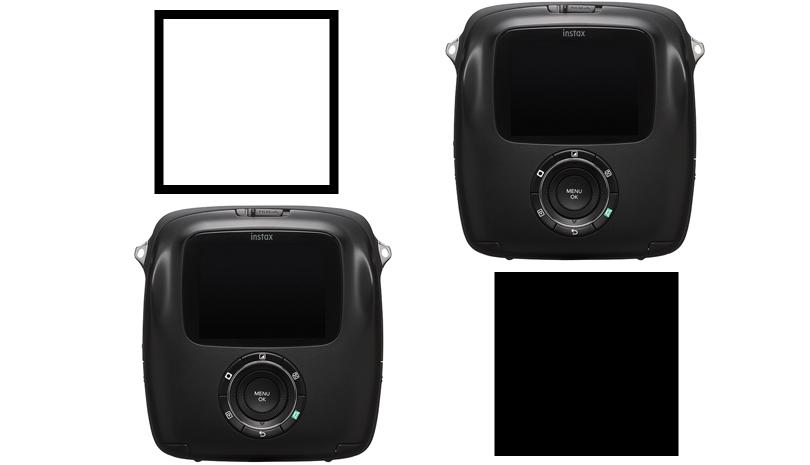 FUJIFILM (フジフイルム) ハイブリッドインスタントカメラ instax SQUARE SQ10