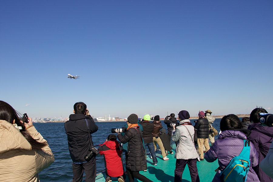 羽田沖 EOS 7D MarkII セミナー