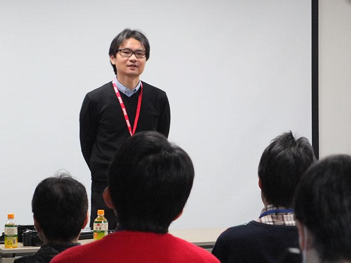 講師上野隆氏