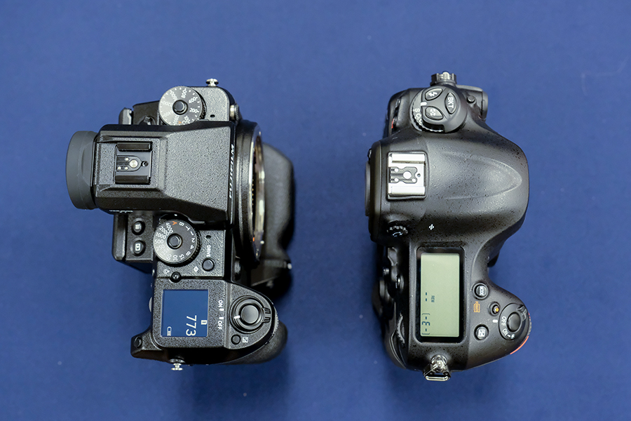 FUJIFILM GFX 50S 大きさ比較