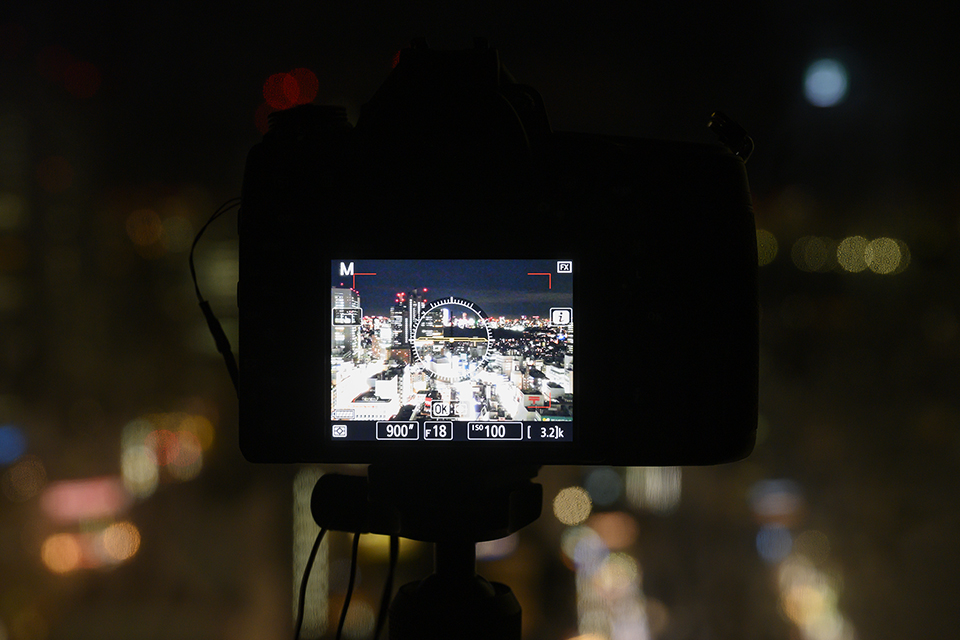 ニコンプラザからの夜景