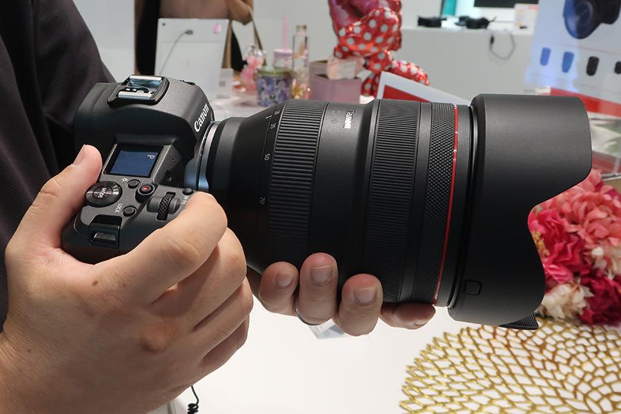 EOS R +RF28-70mm F2 L USM