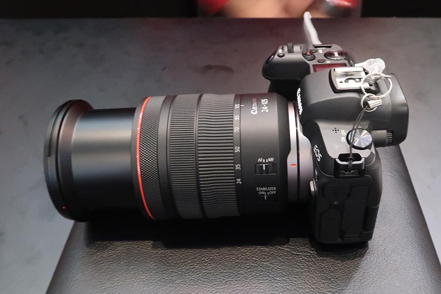 EOS R +RF24-105mm F4L IS USM