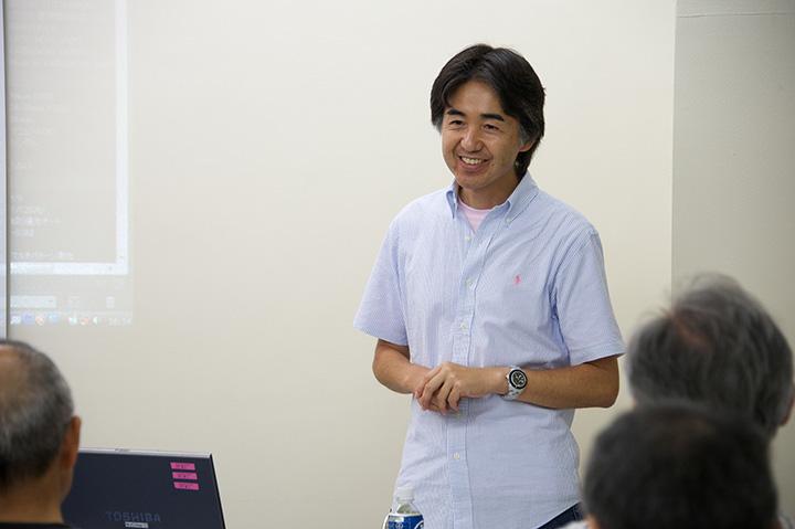 講師の斉藤勝則先生