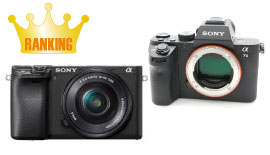 2019年4月 新品・中古デジタルカメラ人気ランキング