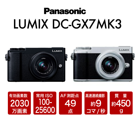 Panasonic LUMIX DC-GX7 Mark III