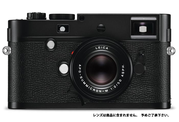 【Leica】 New M Monochrom (typ246) 本日発売!!
