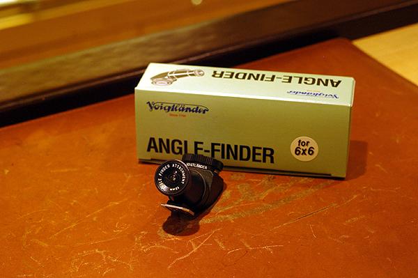 フォクトレンダーアングルファインダー フォ――――6×6