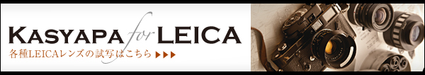 Leicaを存分に楽しめるフォトプレビューサイト!