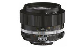 Voigtlander NOKTON 58mm F1.4 SL II S本日発売