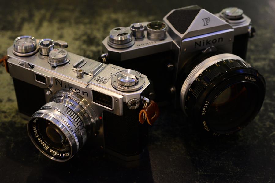 Nikon S2 & F
