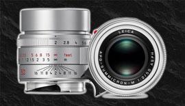 【Leica】 アポズミクロン50mmにシルバーが登場!!