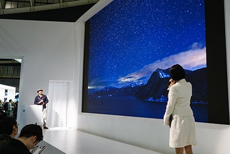 茂手木秀行氏によるセミナー風景
