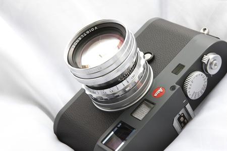 Voigtlander NOKTON 50mm F1.5 ASPH VM Silver